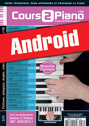 Cours 2 Piano n°58 (Android)