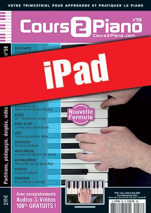 Cours 2 Piano n°58 (iPad)