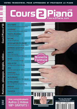 Cours 2 Piano n°58