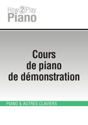 Cours de piano de démonstration