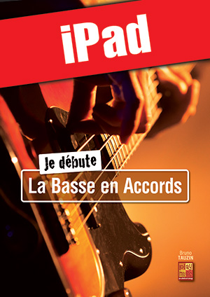 Je débute la basse en accords (iPad)