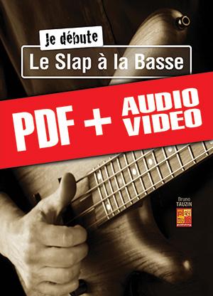 Je débute le slap à la basse (pdf + mp3 + vidéos)
