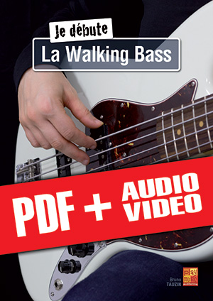 Je débute la walking bass (pdf + mp3 + vidéos)