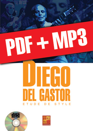 Diego del Gastor - Etude de style (pdf + mp3)