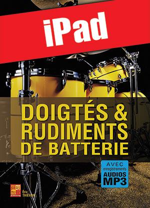 Doigtés & rudiments de batterie (iPad)
