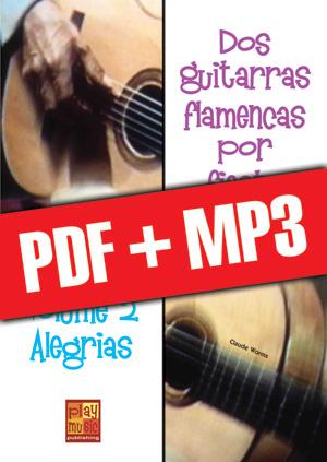 Dos guitarras flamencas por fiesta - Alegrias (pdf + mp3)