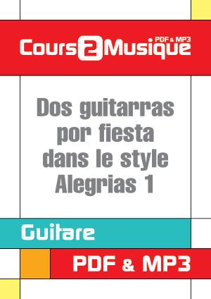 Dos guitarras por fiesta dans le style Alegrias - 1