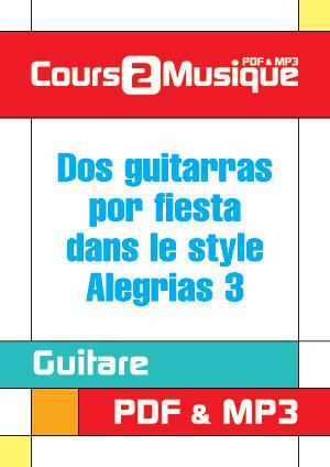 Dos guitarras por fiesta dans le style Alegrias - 3