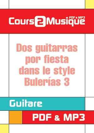 Dos guitarras por fiesta dans le style Bulerías - 3
