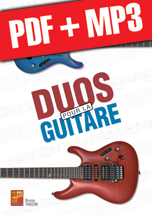 Duos pour la guitare (pdf + mp3)