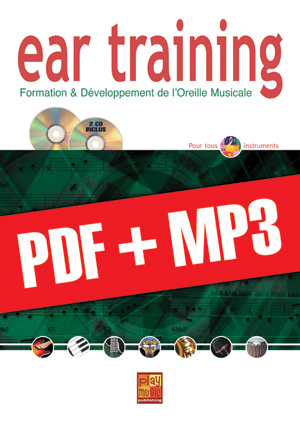 Ear training - Tous instruments (pdf + mp3)
