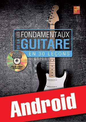 Les fondamentaux de la guitare en 30 leçons (Android)