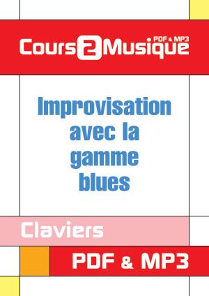 Improvisation avec la gamme blues au clavier
