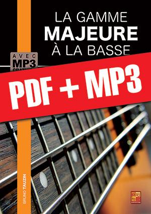 La gamme majeure à la basse (pdf + mp3)