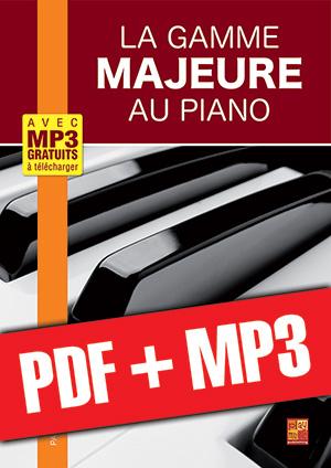 La gamme majeure au piano (pdf + mp3)