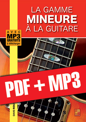 La gamme mineure à la guitare (pdf + mp3)