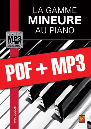 La gamme mineure au piano (pdf + mp3)