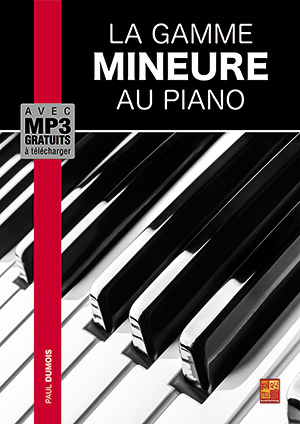 La gamme mineure au piano