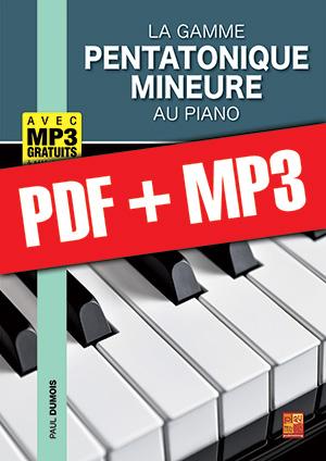 La gamme pentatonique mineure au piano (pdf + mp3)