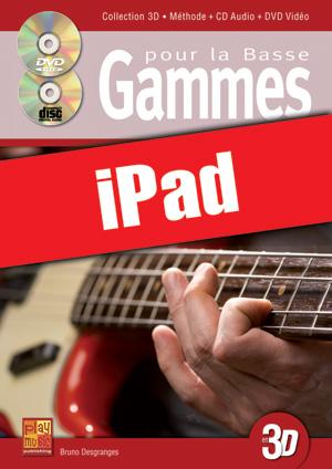 Gammes pour la basse en 3D (iPad)