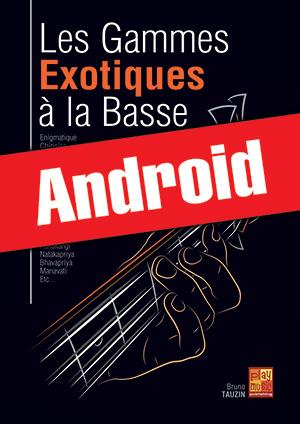 Les gammes exotiques à la basse (Android)