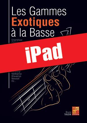 Les gammes exotiques à la basse (iPad)
