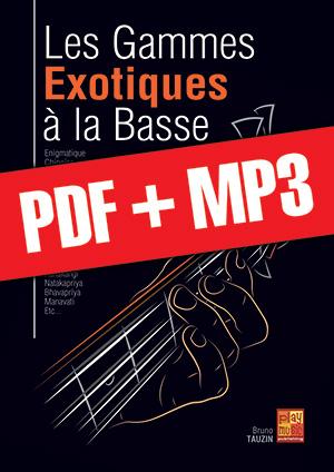 Les gammes exotiques à la basse (pdf + mp3)