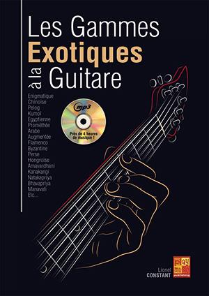 Les gammes exotiques à la guitare