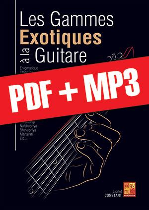 Les gammes exotiques à la guitare (pdf + mp3)
