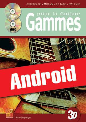 Gammes pour la guitare en 3D (Android)