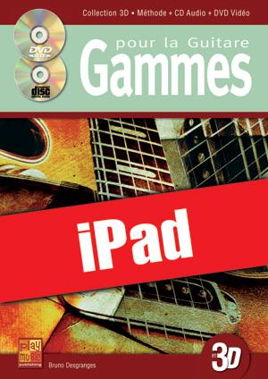 Gammes pour la guitare en 3D (iPad)