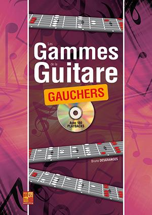 Les gammes de la guitare pour gauchers