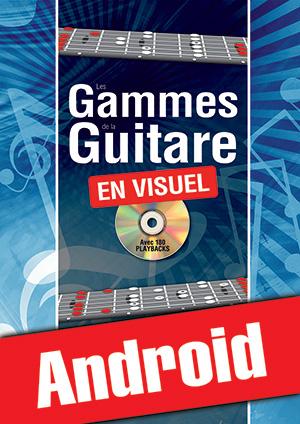 Les gammes de la guitare en visuel (Android)