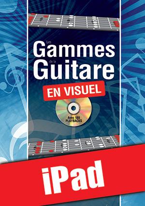 Les gammes de la guitare en visuel (iPad)