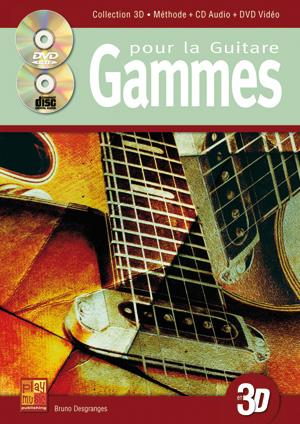 Gammes pour la guitare en 3D