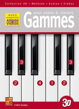 Gammes pour piano & claviers en 3D