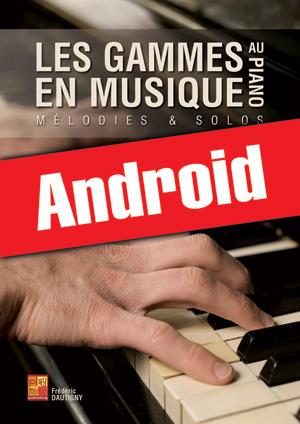 Les gammes en musique au piano (Android)