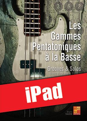 Les gammes pentatoniques à la basse (iPad)