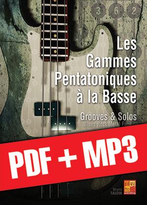 Les gammes pentatoniques à la basse (pdf + mp3)