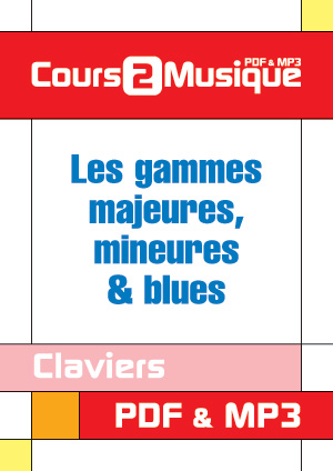 Les gammes majeures, mineures & blues