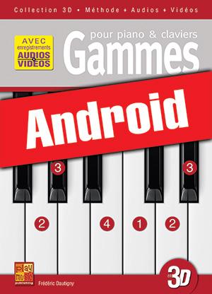 Gammes pour piano & claviers en 3D (Android)