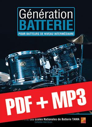 Génération Batterie - Intermédiaire (pdf + mp3)