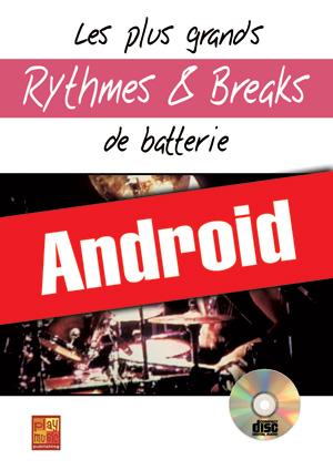 Les plus grands rythmes & breaks de batterie (Android)