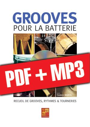 Grooves pour la batterie (pdf + mp3)