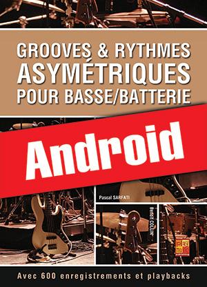 Grooves & rythmes asymétriques pour basse/batterie (Android)
