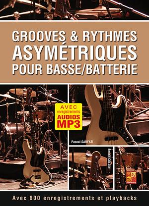 Grooves & rythmes asymétriques pour basse/batterie