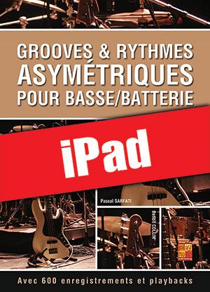 Grooves & rythmes asymétriques pour basse/batterie (iPad)