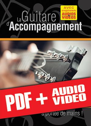 La guitare d'accompagnement… à portée de mains ! (pdf + mp3 + vidéos)