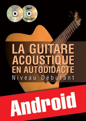 La guitare acoustique en autodidacte - Débutant (Android)