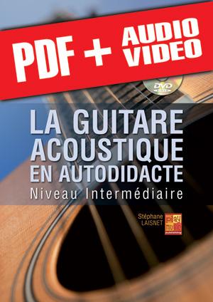 La guitare acoustique en autodidacte - Intermédiaire (pdf + mp3 + vidéos)